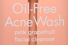 Neutrogena Oil-Free Acne Wash Pink Grapefruit Facial Cleanser $16.99. Photo / Supplied