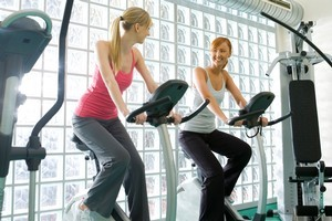 Join a gym with a friend so you can motivate and support each other. Photo / Thinkstock
