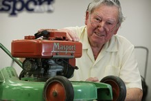 Gordon Boswell has been with Masport for more than  half of its 100 years. Photo / Greg Bowker