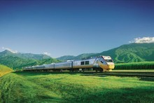 The Tilt Train passes beautiful scenery and quaint country towns. Photo / Queensland Rail