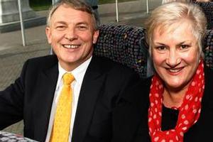 Labour leader Phil Goff and his deputy, Annette King. File photo / Mark Mitchell