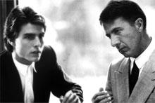 Dustin Hoffman (R) played an autistic savant in the 1988 movie Rain Man. Photo / Supplied