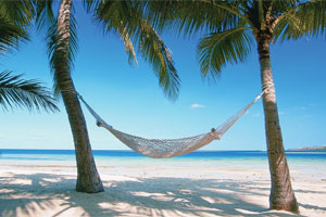 It seems this Fijian beach scene is many people's idea of the perfect holiday. Photo / Supplied