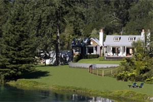The Alan Pye Cottage at Huka Lodge. Photo / Supplied
