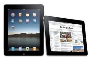 Apple's new iPad tablet device.