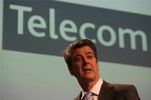 Telecom chief executive Paul Reynolds. Photo / Glenn Jeffries.
