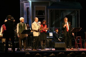 The October 23 edition of the  A Prairie Home Companion  was staged at the Fitzgerald Theatre in St Paul, Minnesota. Photo / Supplied