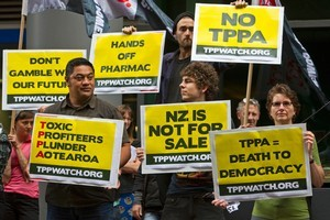 If modelled on an American example, the Trans Pacific Partnership Agreement could give individual corporations the same rights as governments. Photo / NZPA