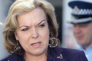 Police Minister Judith Collins. Photo / APN