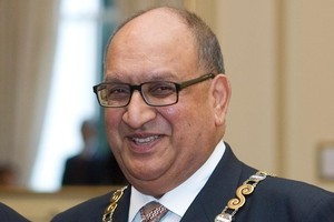 Sir Anand Satyanand. Photo / Mark Mitchell