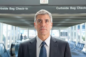 George Clooney as Ryan Bingham in Up in the Air. Photo / Supplied