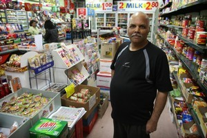 Suresh Patel provided help in time of need for earthquake victims. Photo / Greg Bowker