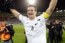 All Whites captain Ryan Nelsen. Photo / Mark Mitchell