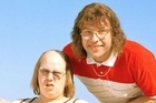 David Williams (right) with Little Britain co-star Matt Lucas. Photo / Supplied