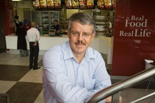 Russel Creedy, Restaurant Brands chief executive. Photo / Paul Estcourt 