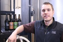 Soren Eriksen traded studying sea urchins for full-time brewing. Photo / Supplied