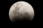 A lunar eclipse seen from the Kapiti Coast in 2007. Photo / Mark Mitchell