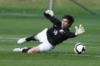Goalkeeper Jacob Spoonley. Photo / Brett Phibbs