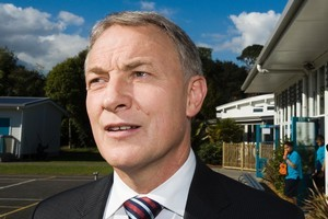 Phil Goff says there has got to be a vision. Photo / Paul Estcourt