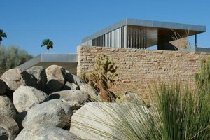 Architecture exhibiting Desert Modernism in Palm Springs. Photo / Supplied
