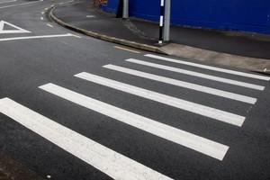 Pedestrians must use a pedestrian crossing according to The Land Transport (Road User) Rule 2004. Photo / Sarah Ivey