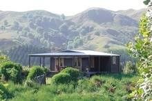 Little Tom's Cottage, near Havelock North, has been named the best remote wilderness hideaway in the world by the 'The Times'. Photo / Supplied