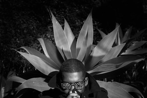 Steven Ellison's Flying Lotus moniker was inspired by the liberating, spacey sounds he makes on his laptop. Photo / Supplied