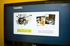 Tumblr blamed a database cluster problem that saw its many hipster users at a loss for up to 24 hours. Photo / Supplied