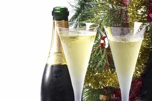 Whether chilled or at room temperature having a glass of wine in hand to toast the celebrations will tie in nicely with the Christmas cheers. Photo / Thinkstock