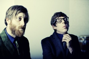 Pat Carney (right) and Dan Auerbach have survived tough times. Photo / Supplied