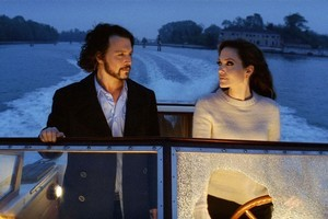 Johnny Depp and Angelina Jolie add to the glamorous scenery of Venice in  The Tourist , their first on-screen collaboration. Photo / Supplied