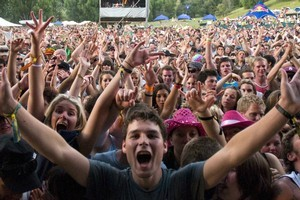 Rhythm & Vines Festival remains hugely popular. Photo / NZ Herald