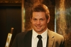 Richie McCaw at the awards last night. Photo / Greg Bowker