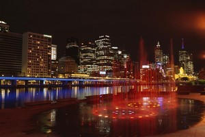 Melbourne City Skyline at night. Photo / Supplied