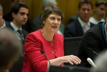 Former Prime Minister Helen Clark. Photo / Mark Mitchell