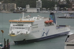 Police said the man at the centre of the incident aboard the Kaitaki was co-operative. File photo / Mark Mitchell