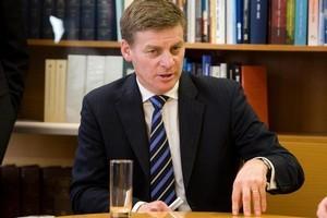 Finance Minister Bill English. File photo / Mark Mitchell