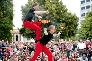 World Buskers Festival in Christchurch. Photo / Supplied