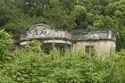 An abandoned family home near Fanling, Hong Kong. Photo / Jim Eagles