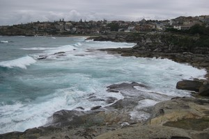 A coastal walkway links the Sydney beaches of Bondi and Bronte. Photo / Jill Worrall