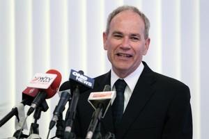 Auckland Mayor Len Brown. Photo / Sarah Ivey