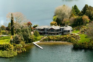 Lake Okareka Lodge was chosen as one of the world's top honeymoon getaways because of its secluded location. Photo / Supplied