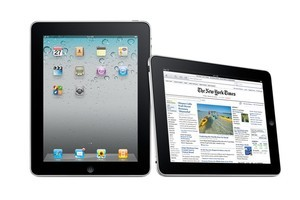 Apple's iPad is facing increasing competition from Android-powered devices, an expected crop of Windows 7 tablets and RIM's PlayBook. Photo / Supplied