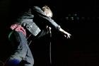 Damon Albarn performs at the Gorillaz concert. Photo / Natalie Slade