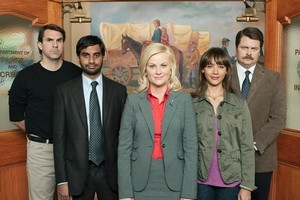 Parks and Recreation has the same mockumentary format as The Office. Photo / Supplied