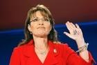 Sarah Palin. Photo / Bloomberg.