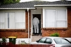 Counties Manukau police investigate the death of two adults at this house in Pakuranga. Photo / Dean Purcell