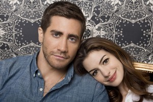 Anne Hathaway and Jake Gyllenhaal had worked together previously, on Brokeback Mountain, which made their intimate scenes in Love & Other Drugs a little easier. Photo / Supplied