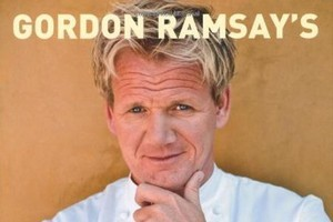 The cover of Gordon Ramsay's World Kitchen: Recipes from the F-Word. Photo / Supplied.