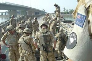 NZ troops in Basra, Iraq. Photo / Supplied
